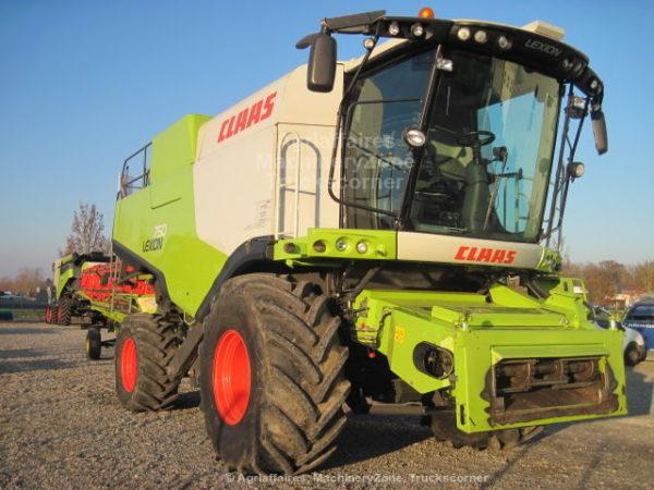 CLAAS LEXION 750 d'occasion chez JF-AGRI à Schlierbach