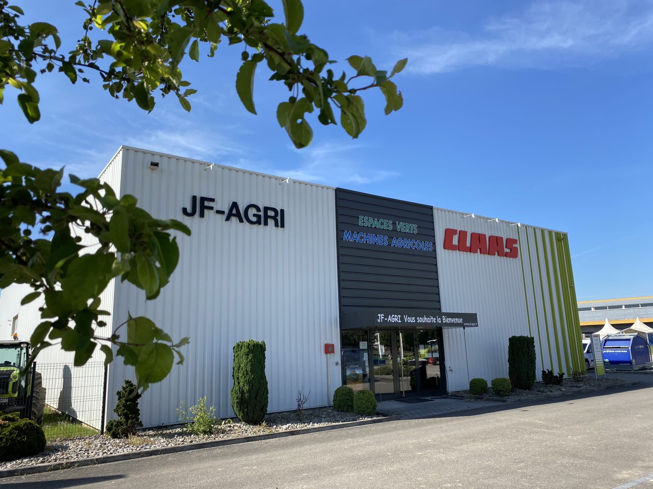 JF AGRI concession CLAAS à Schlierbach