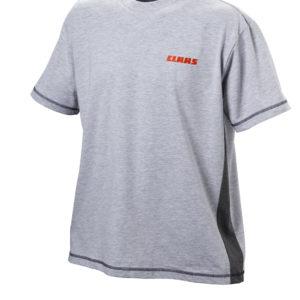 T-Shirt de travail gris clair pour homme de la marque CLAAS chez JF-AGRI à Schlierbach