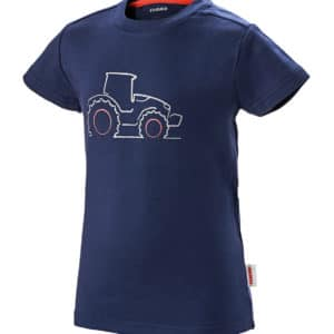 T-shirt enfant bleu chez JF-AGRI à Schlierbach
