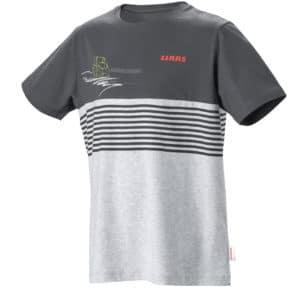 T-shirt gris enfant CLAAS chez JF-AGRI à Schlierbach