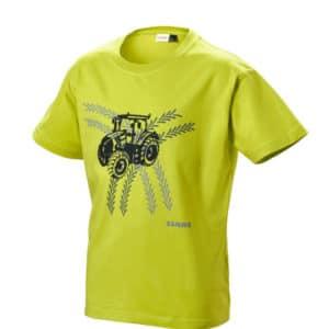 T-shirt vert enfant chez JF-AGRI à Schlierbach