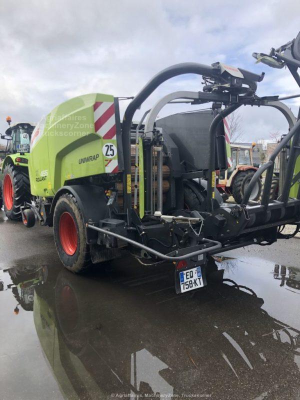 CLAAS ROLLANT 455 RC UNIWRAP chez JF-AGRI