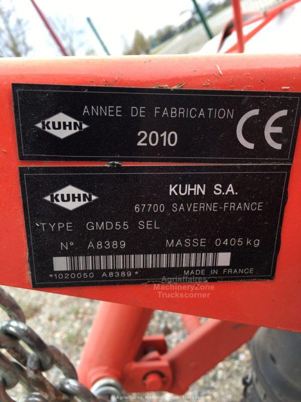 KUHN GMD 55 chez JF-AGRI