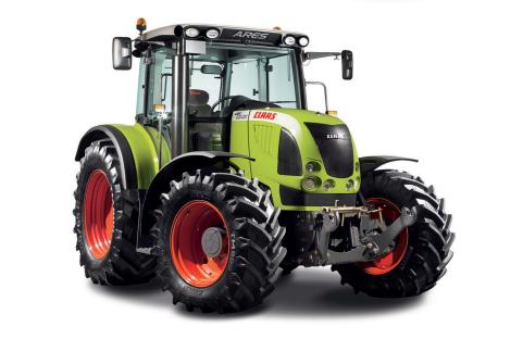 Tracteur CLAAS ancienne génération SILVERLINE